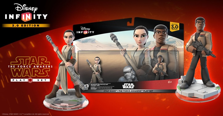Disney Infinity Star Wars Force Awakens playset