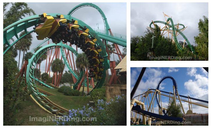 Busch Gardens Tampa Roller Coasters Imaginerding