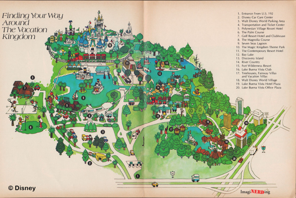 Magic Kingdom Maps Galore