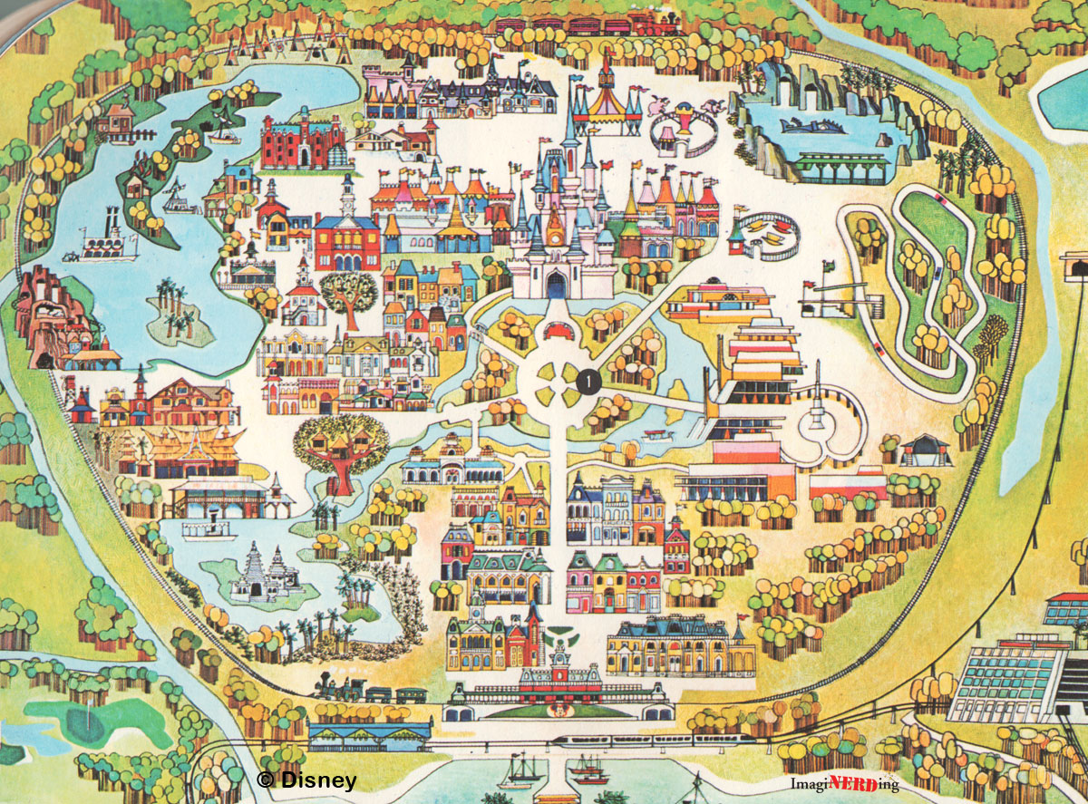 Critical image intended for printable disneyworld maps