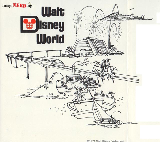 1971 walt disney world brochure imaginerding