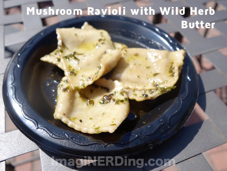 Wild Mushrooms With Herbed Cheese Recipe — Dishmaps