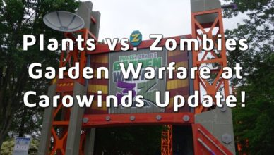 plants vs. zombies update at carowinds