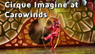 cirque imagine at carowinds