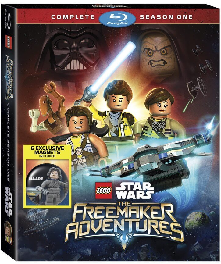 Star Wars LEGO Freemaker Adventures on Blu-ray!