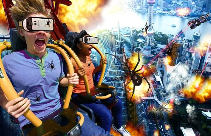 VR Drop Tower