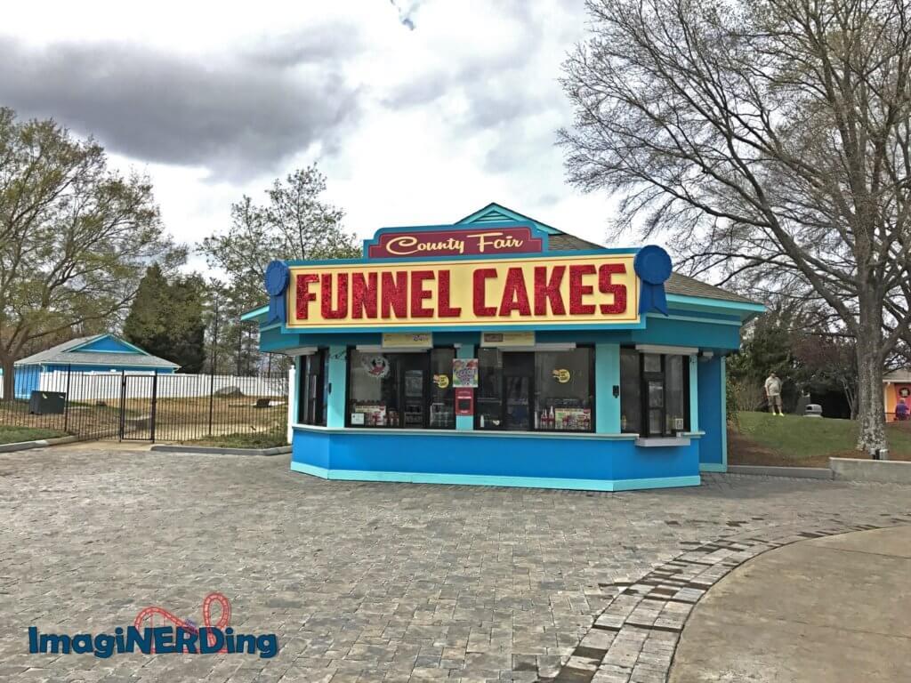 county fair carowinds funnel cakes