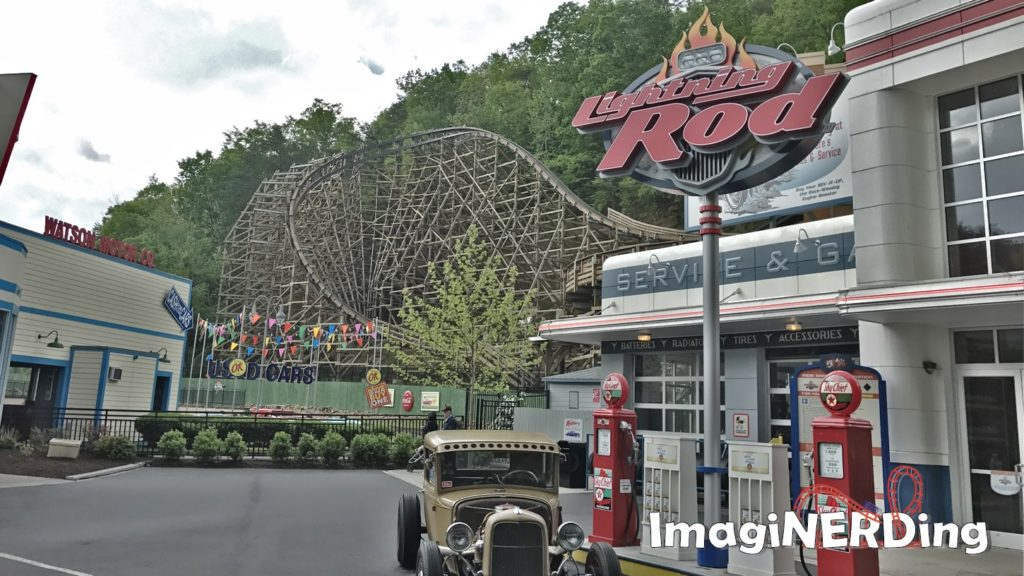 Dollywood roller coasters