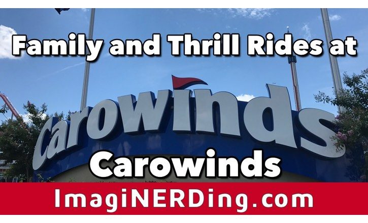 carowinds rides