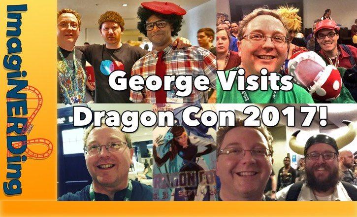 George visits dragon con 2017