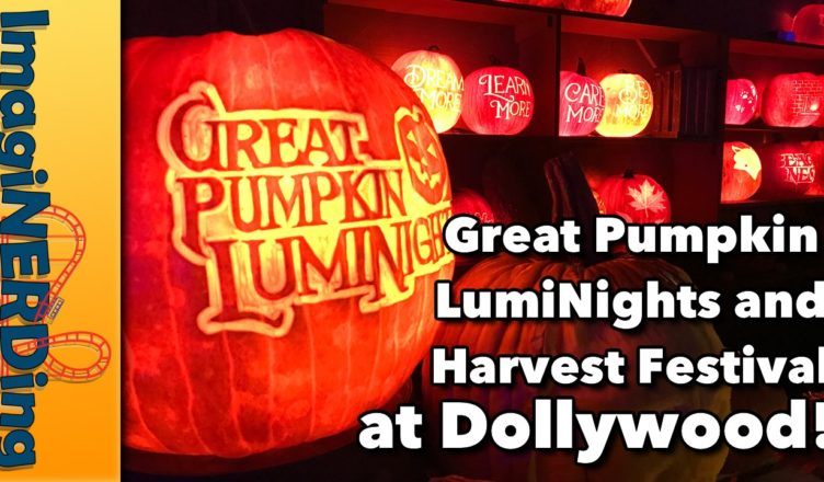 great pumpkin luminights and harvest festival at Dollywood