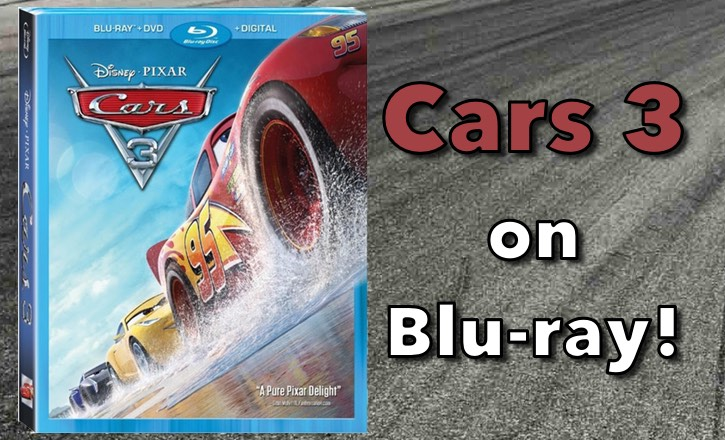 cars 3 on blu ray a review imaginerding. Black Bedroom Furniture Sets. Home Design Ideas