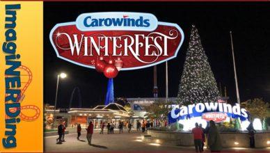 Carowinds winter fest christmas celebration