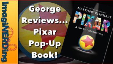Disney Pixar pop-up a celebration